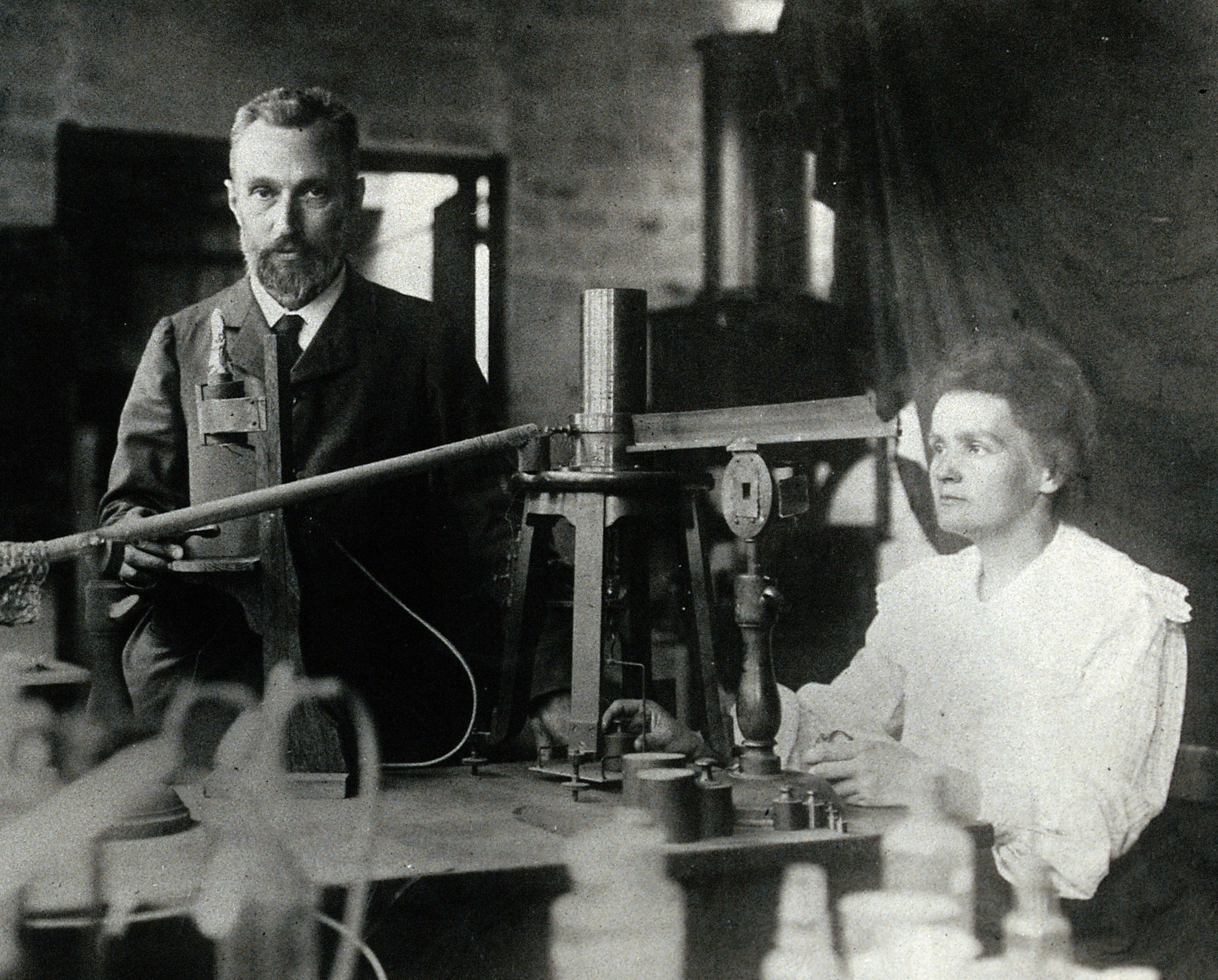 learn english with a listening story about Marie Curie