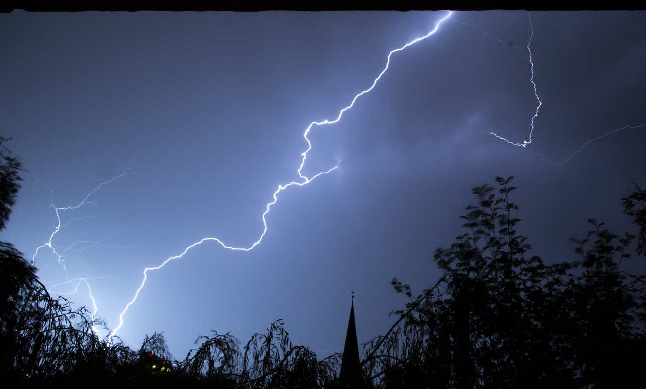 learn english with fluency activities about nature and lightning