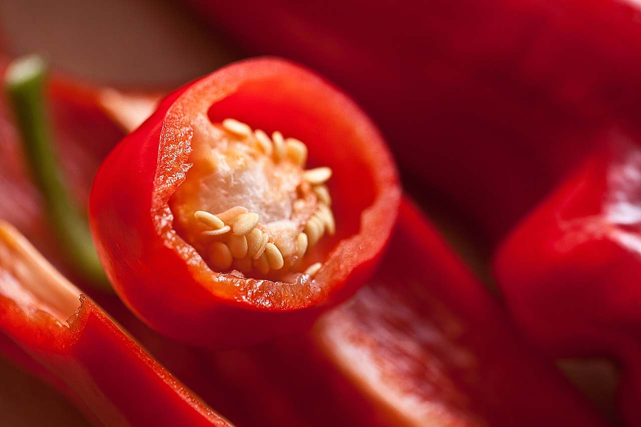 listenign lessons about red pepper