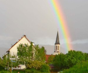 English listening lessons about rainbows