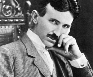 online listening practice with stories about Nikola Tesla