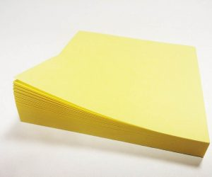 story about Post it notes for Eglish listening fluency